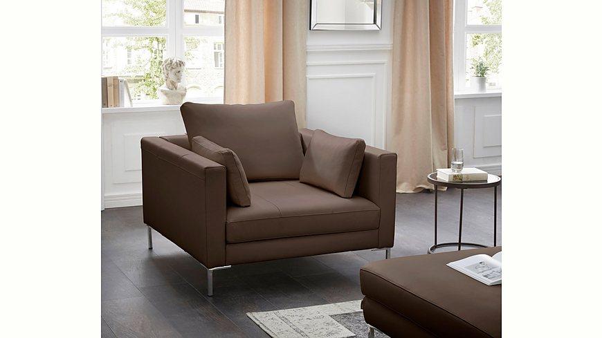 Alte Gerberei Sessel »Marinus« mit schmalen Lehnen, inklusive Rückenkissen
