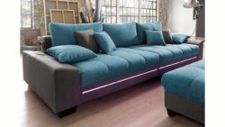 Big-Sofa mit Beleuchtung, wahlweise mit Bluetooth-Soundsystem, Energieeffizienz: A