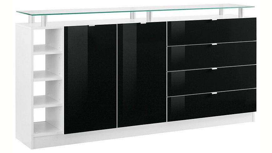 Borchardt Möbel Kommode, »Dolly« Breite 173 cm, mit Glasablage