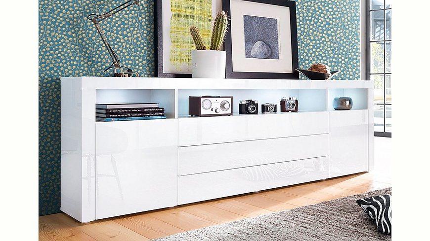 Borchardt Möbel Sideboard, Breite 200 cm