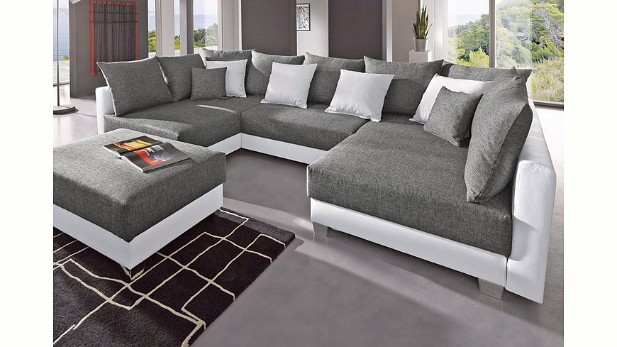 Collection AB Wohnlandschaft, inklusive Hocker