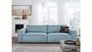 GALLERY M Big-Sofa 3-Sitzer »Lucia« in vielen Qualitäten und 4 unterschiedlichen Nähten