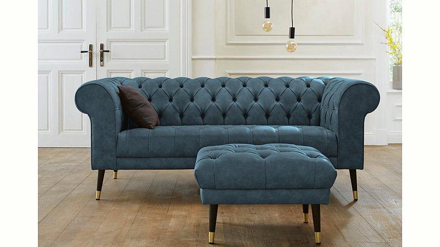 GMK Home & Living Chesterfield 3-Sitzer »Tinnum«