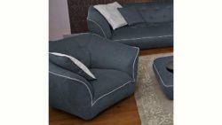 GMK Home & Living Drehsessel »Nida«, inklusive Zierkissen