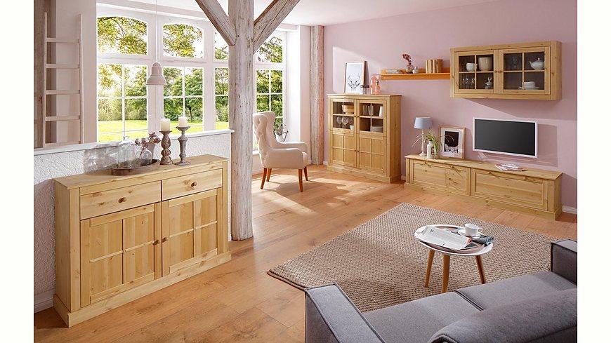 Home Affaire Sideboard »Cindy«, mit dekorativen Fräsungen und viel Stauraummöglichkeiten, Breite 120 cm