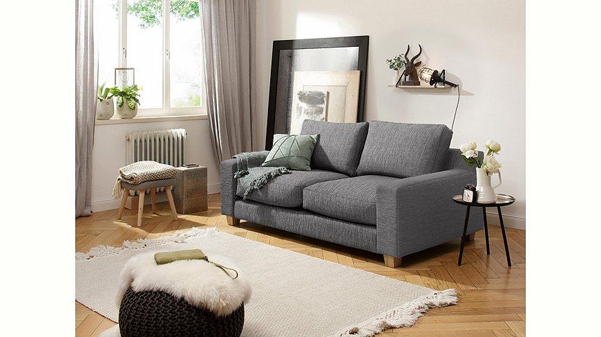 Home affaire 2, 5-Sitzer »Arden« gemütlich im modernen Landhausstil in 3 Bezugstoffen