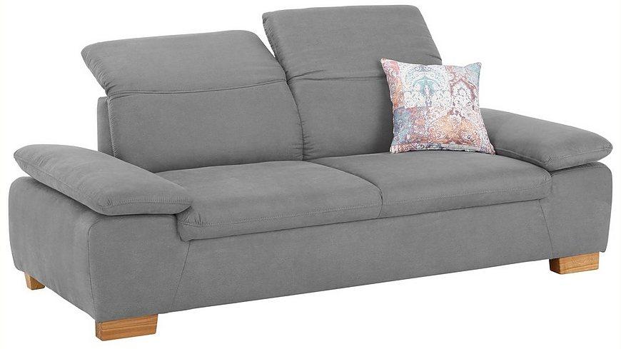 Home affaire 2, 5-Sitzer »Maven« mit Kopfteil- und Armlehn-Verstellung, Federkern