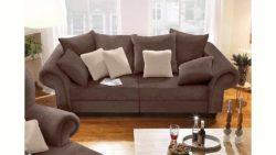 Home affaire Big-Sofa »King Henry« in legerer Polsterung und vielen losen Kissen