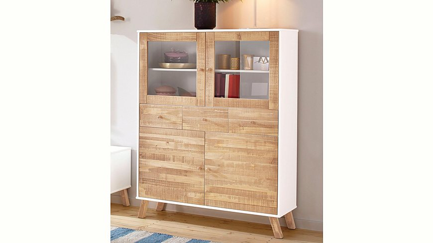 Home affaire Highboard »Rondo«, Breite 105 cm