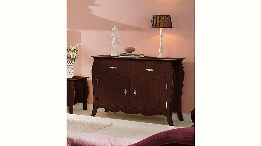 Home affaire Kommode »Kristine«, mit zwei Schubladen, Breite 115 cm