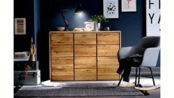 Home affaire Kommode »Zetra« aus Massivholz, alle Schubladen mit Soft-Close-Funktion, Breite 130 cm