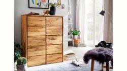 Home affaire Kommode »Zetra« aus Massivholz, alle Schubladen mit Soft-Close-Funktion, Breite 88 cm