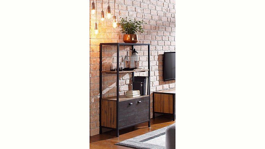 Home affaire Regal mit Türen »Soho«, Höhe 140 cm