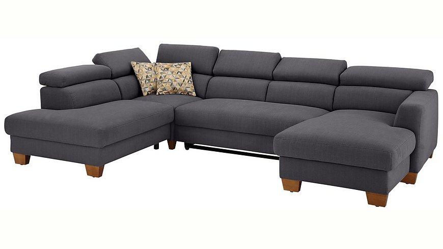 Couch Jakarta Wohnlandschaft Sofa Lederlook