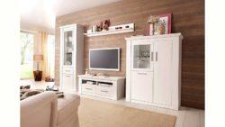 Home affaire Wohnwand »Garden«, mit Vitrine, Highboard, TV-Board und Wandregal (4-tlg.)