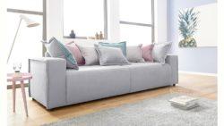 INOSIGN Big-Sofa »Gina« inklusive Wendekissen