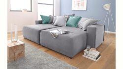 INOSIGN Chill-Sofa »Gina« im XXL-Format mit farbigen Wendekissen