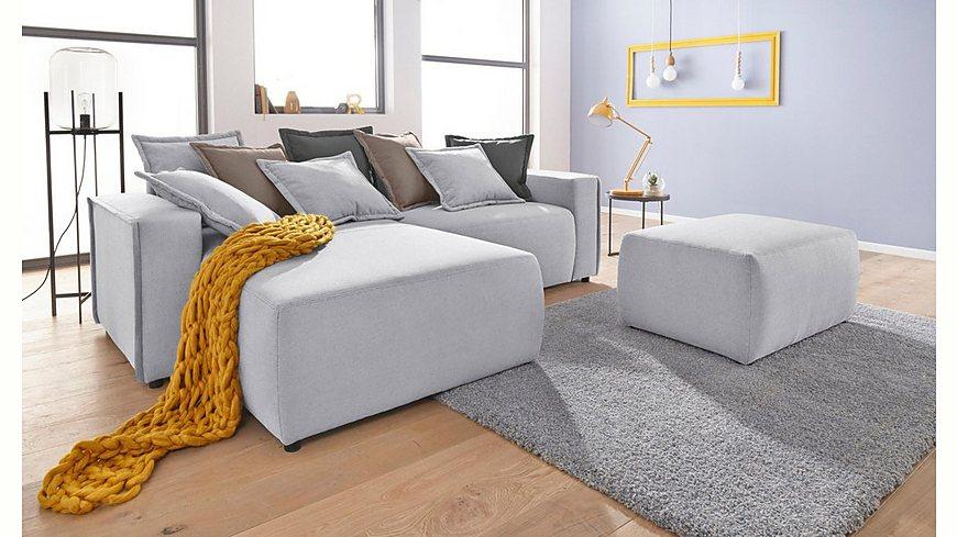INOSIGN Lounge Polsterecke»Gina« inklusive Wendekissen