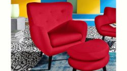 INOSIGN Loungesessel im Retro-Style
