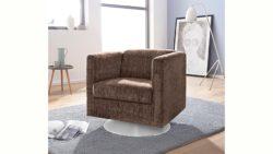 INOSIGN Sessel »Bob« drehbar mit Tellerfuß