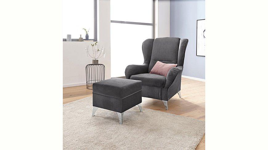 INOSIGN Sessel »Palladio« wahlweise mit Hocker