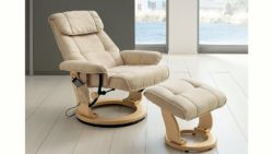 Massagesessel, Alpha Techno, inklusive Hocker