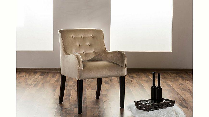 Max Winzer® Esszimmersessel »Debby« mit dekorativen Knöpfen