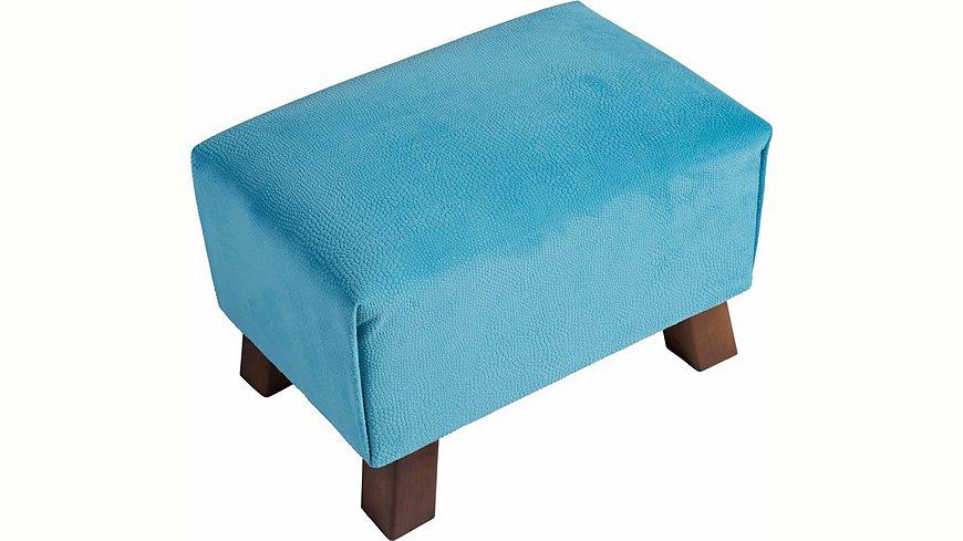 Max Winzer® Hocker »Footstool« mit Reptiliendruck