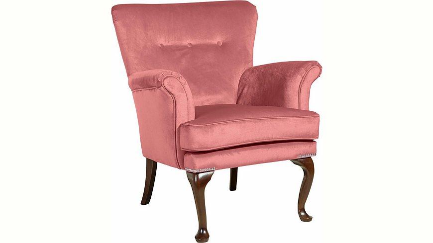 Max Winzer® Sessel »Barbie« im Barockstil, mit Ziernagelband