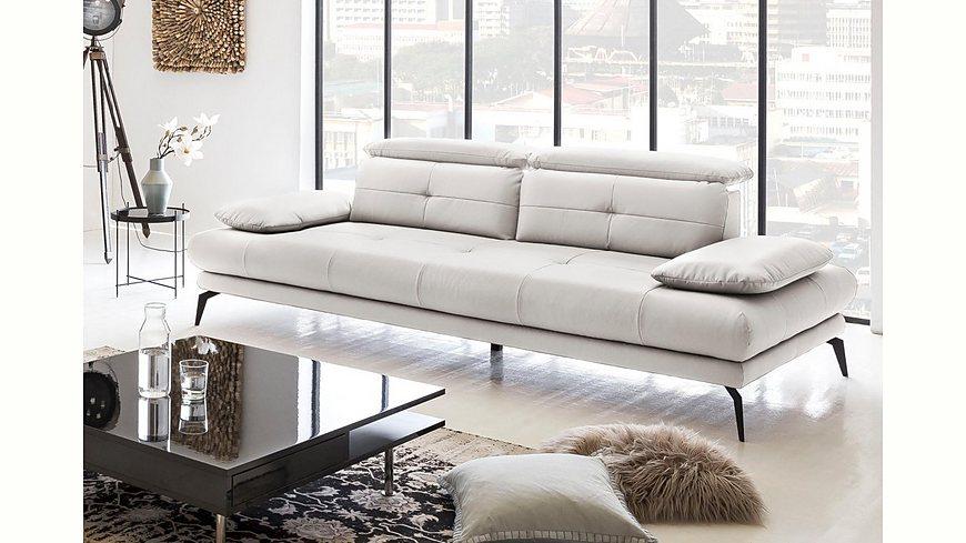 Places of Style 3-Sitzer »SUN« inklusive Rücken- und Armlehnenverstellung