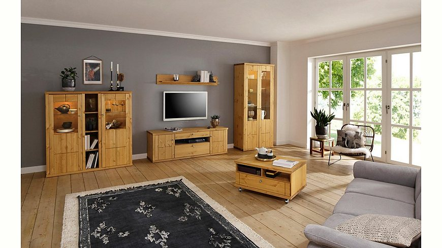Premium Collection by Home affaire Highboard »Delice« im Landhausstil, mit Soft-Close Funktion, Breite 132 cm