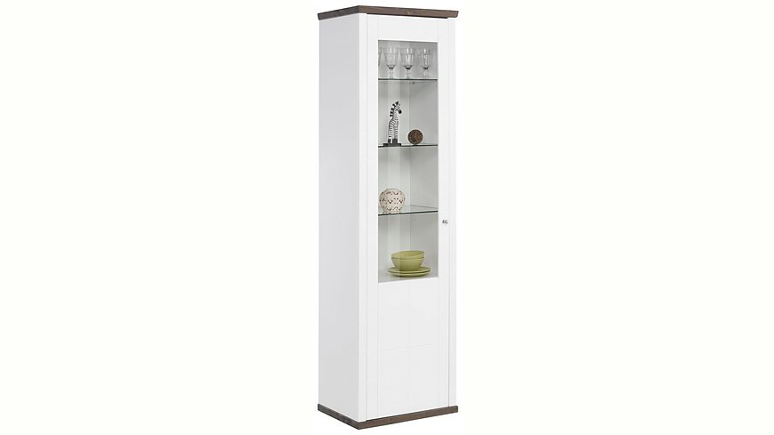 Premium Collection by Home affaire Vitrine »Delice« im Landhausstil, mit Soft-Close Funktion, Höhe 198 cm