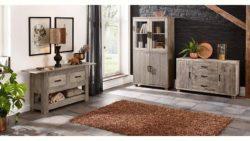 Premium Collection by Home affaire Vitrine »Selina« im extravaganten Design, , Höhe 180 cm