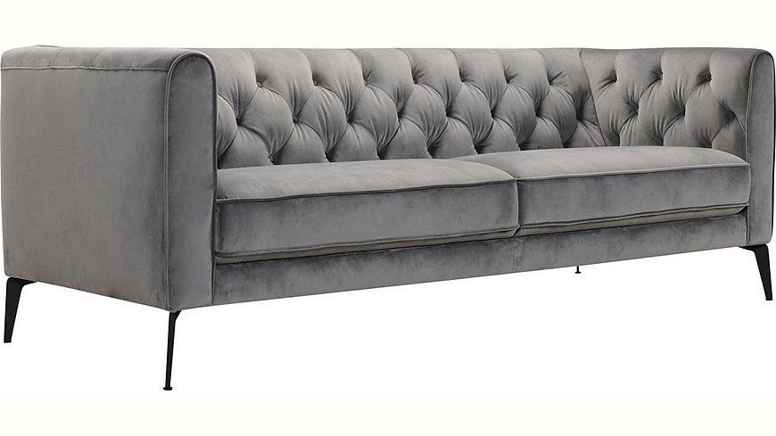 Premium collection by Home affaire 3-Sitzer »Narmada« im Chesterfield-Design