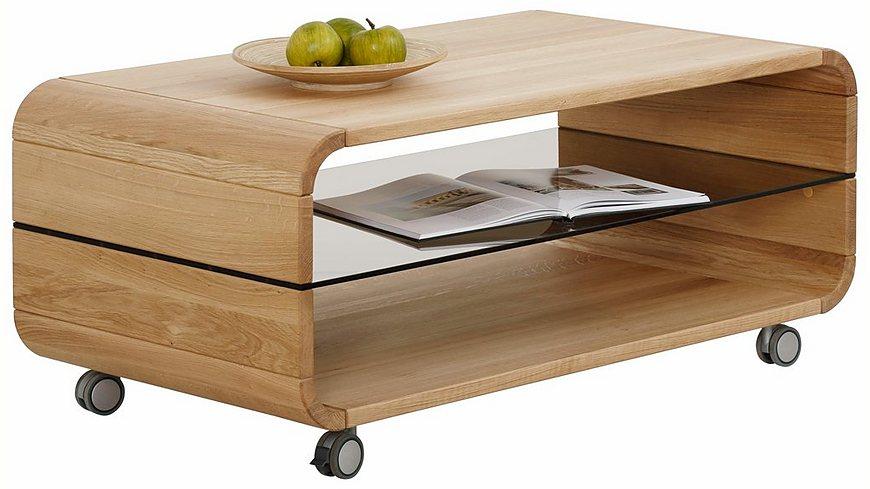 Premium collection by Home affaire Couchtisch »Emil« auf Rollen, Breite 110 cm