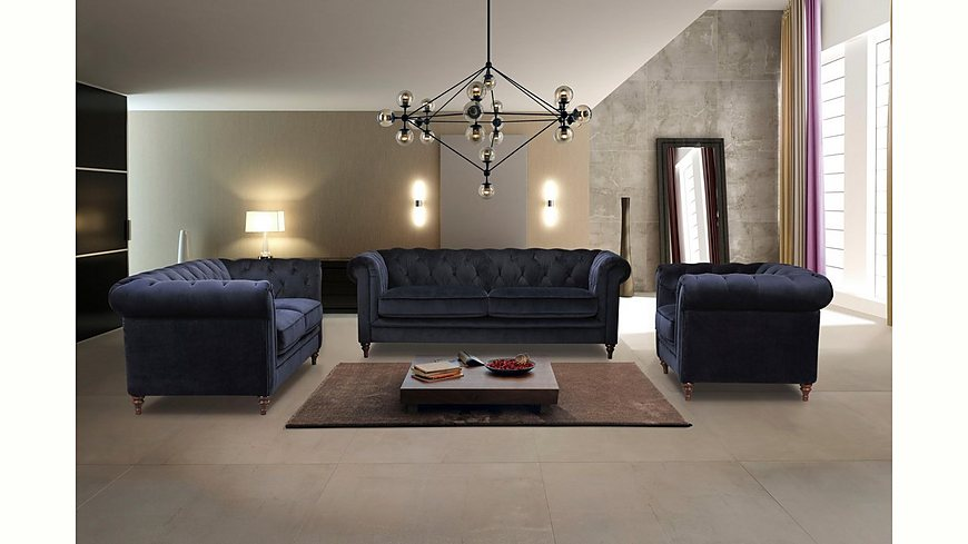 Premium collection by Home affaire Sessel »Chambal« mit klassischer Knopfheftung