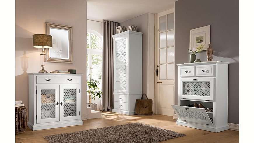 Premium collection by Home affaire Vitrine »Kodia« 1-türig mit 2 Schubladen