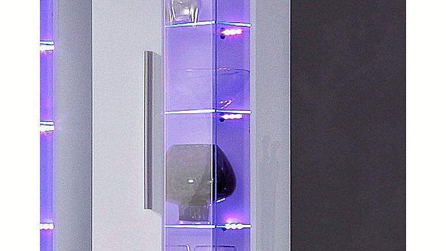 RGB-LED-Glaskantenbeleuchtung, HLT, Energieeffizienz: A