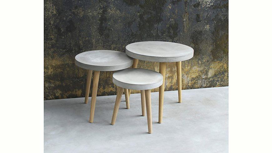 SIT Beistelltisch »Cement« in zwei Größen