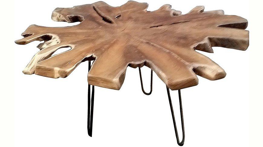 SIT Couchtisch »Romanteaka« recyceltes Teakholz, in naturbelassener Form