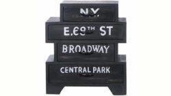 SIT Kommode »Bronx«, Breite 50 cm, mit vier Schubladen