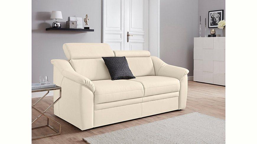 Sit & More 2-Sitzer, inklusive Federkern und Kopfteilverstellung