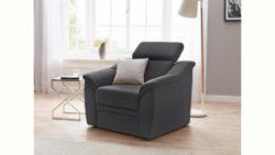 Sit & More Sessel, inklusive Federkern und Kopfteilverstellung