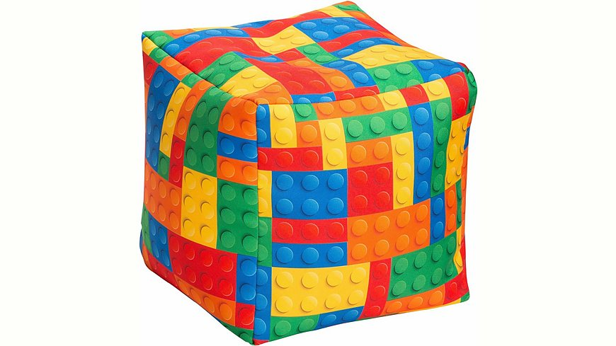 Sitting Point Sitzwürfel »Bricks «, Digitaldruck