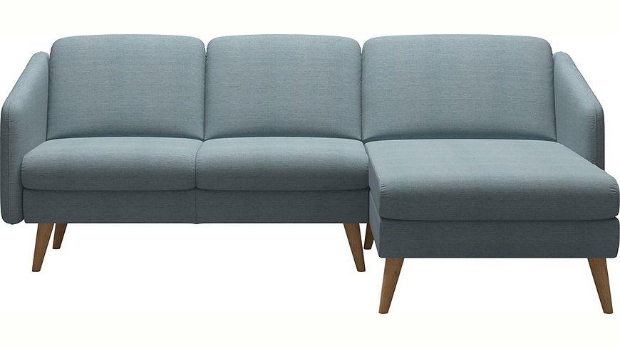 Stressless® 2-Sitzer mit Longseat »Eve« mit schrägen Holzüßen in 3 Ausführungen