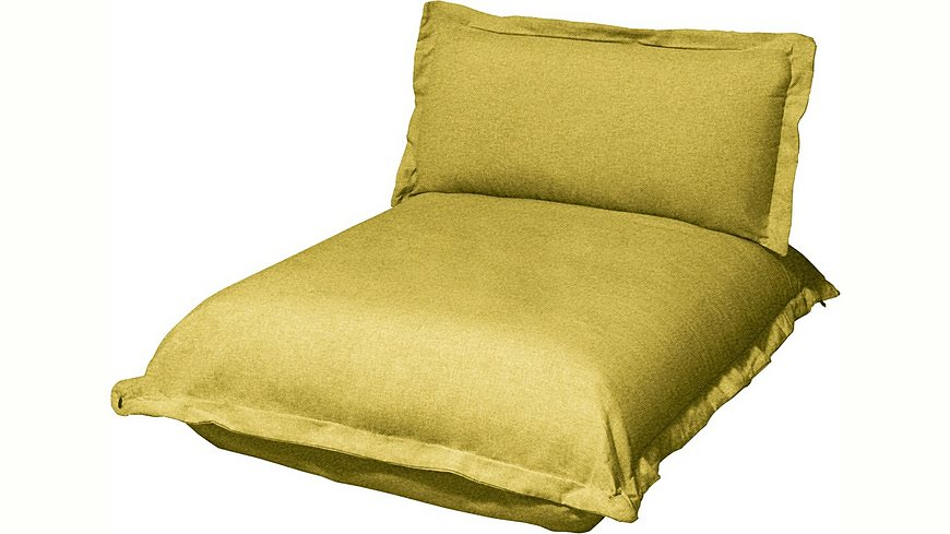TOM TAILOR Chaiselongue lang »CUSHION«, Sitztiefe 85 cm