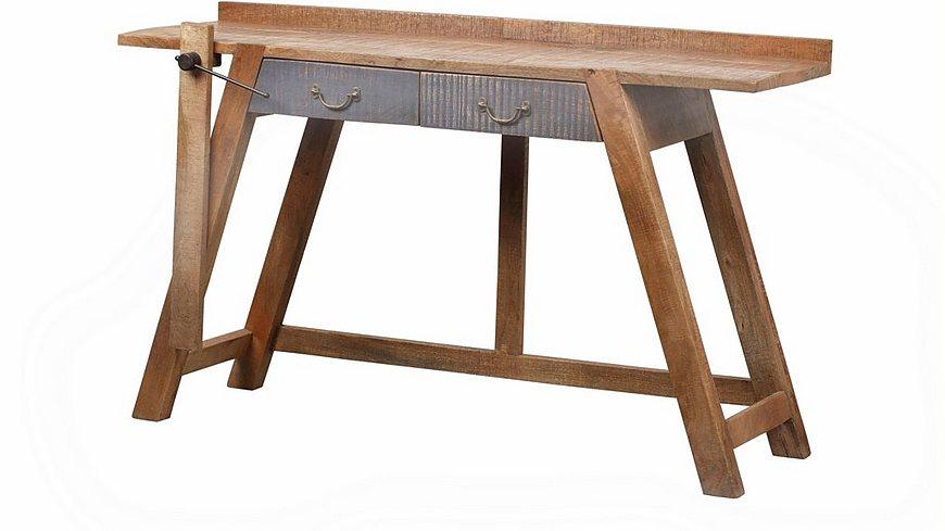The Wood Times Konsolentisch «New Rustic», Breite 148 cm