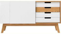 Woodman »Estera« Sideboard, Breite 135 cm