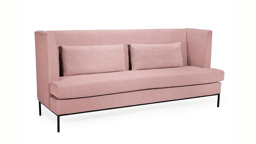 andas 4-Sitzer »Town« moderner Style, Metallrahmen-Füße, Zierkissen, Sitzhöhe 50 cm