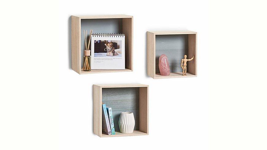 andas Wand-Regal-Set »Cubes«, 3-tlg.